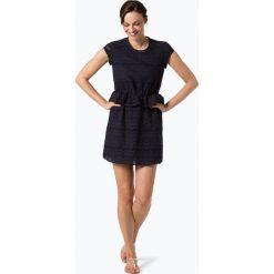 ONLY - Sukienka damska – Silvija, niebieski. Szare sukienki koronkowe marki ONLY, s, casualowe, z okrągłym kołnierzem. Za 149,95 zł.