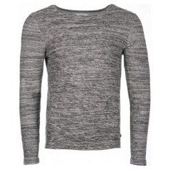 Q/S Designed By Sweter Męski M, Szary. Szare swetry klasyczne męskie Q/S designed by, m, z bawełny, z okrągłym kołnierzem. Za 119,00 zł.