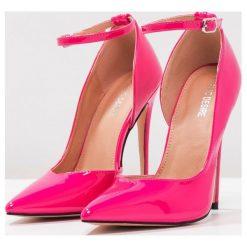 Szpilki: Public Desire NEWTON Szpilki hot pink