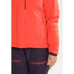 The North Face INAUGURATION Kurtka snowboardowa orange. Brązowe kurtki damskie narciarskie marki The North Face, xs, z materiału. W wyprzedaży za 879,20 zł.