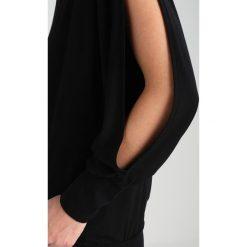 Bluzki asymetryczne: Baukjen LORA  Bluzka z długim rękawem caviar black