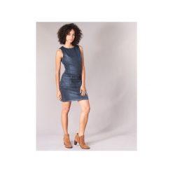 Sukienki krótkie Freeman T.Porter  Cerena SDM. Niebieskie sukienki mini marki Freeman T. Porter. Za 529,00 zł.