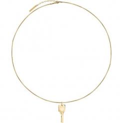 Naszyjnik z zawieszką - dł. 45 cm. Żółte naszyjniki damskie s.Oliver & Liebeskind, ze stali. W wyprzedaży za 100,95 zł.