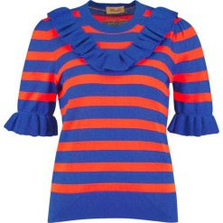 T-shirty damskie: Baum und Pferdgarten CAMELAI Tshirt z nadrukiem orange/blue