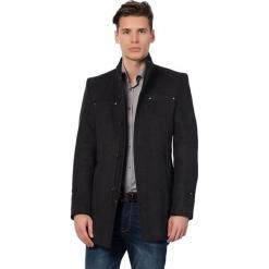 Płaszcz w kolorze antracytowym. Szare płaszcze zimowe męskie marki AVVA, Dewberry, m. Za 449,95 zł.