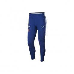 Spodnie treningowe do piłki nożnej Chelsea. Czarne spodnie sportowe damskie marki Nike, s, do piłki nożnej. Za 219,99 zł.