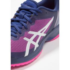 ASICS GEL COURT SPEED Obuwie multicourt blue print/pink glo. Niebieskie buty do tenisu damskie Asics. Za 509,00 zł.