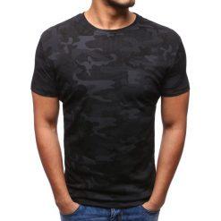 T-shirty męskie z nadrukiem: T-shirt męski z nadrukiem czarny (rx2803)