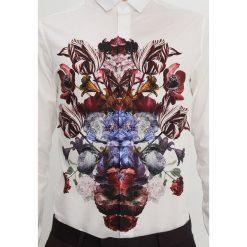 Koszule męskie na spinki: Noose & Monkey DESDEMONA  Koszula white