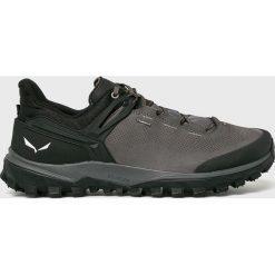 Salewa - Buty. Szare buty trekkingowe męskie Salewa, z materiału, na sznurówki, outdoorowe. W wyprzedaży za 649,90 zł.