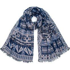 Szaliki damskie: Art of Polo Szal damski Aztecka bawełna niebieski