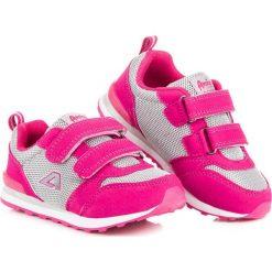 Buciki niemowlęce: American Club Buty sportowe na rzep różowe r. 28 (75558)