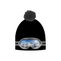 Czapka hauer GOOGLE. Czarne czapki zimowe męskie marki Hauer, z nadrukiem, z polaru. Za 69,00 zł.