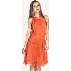 Odzież damska: Sukienka Tantra w kolorze pomarańczowym