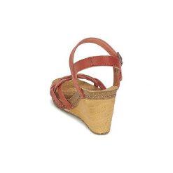 Sandały Art  VALBY 439. Czerwone sandały trekkingowe damskie Art. Za 423,20 zł.