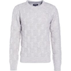 Swetry klasyczne męskie: Bruuns Bazaar MARCELLE  Sweter sand melange