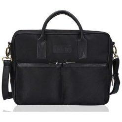 Solier Torba na ramię na laptopa Cidro czarna. Czarne torby na laptopa marki Solier. Za 130,67 zł.