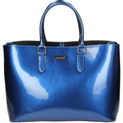 Torba - 123-85120-M B. Czarne torebki klasyczne damskie marki Venezia, ze skóry. Za 359,00 zł.