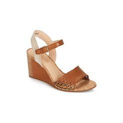 Sandały Clarks  SPICED POPPY. Brązowe sandały trekkingowe damskie marki Clarks. Za 351,20 zł.
