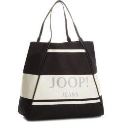 Torebka JOOP! - JEANS Lara 4140003848 Black 900. Brązowe torby plażowe marki JOOP!, z jeansu, duże. W wyprzedaży za 389,00 zł.