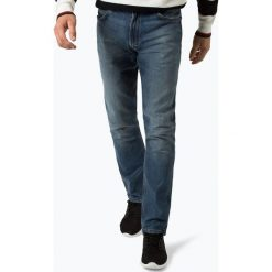 Wrangler - Jeansy męskie – Greensboro, niebieski. Niebieskie jeansy męskie Wrangler. Za 379,95 zł.
