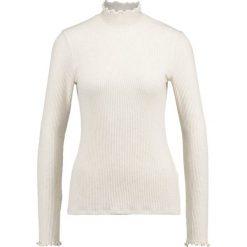 Swetry klasyczne damskie: Abercrombie & Fitch SLIM MOCK NECK Sweter cream