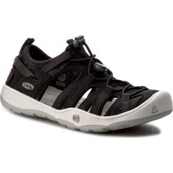 Sandały KEEN - Moxie Sandal 1016691 Black/Vapor. Czarne sandały chłopięce marki Keen, z materiału. W wyprzedaży za 179,00 zł.