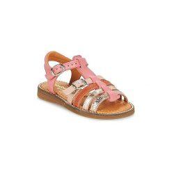 Sandały Dziecko  Babybotte  KATZ. Czerwone sandały dziewczęce marki Babybotte. Za 263,20 zł.
