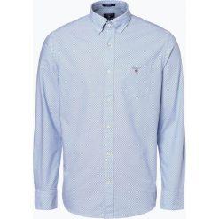 Gant - Koszula męska, niebieski. Niebieskie koszule męskie na spinki marki GANT, l. Za 449,95 zł.