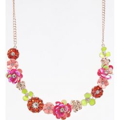 Naszyjniki damskie: Naszyjnik z kwiatami – Wielobarwn