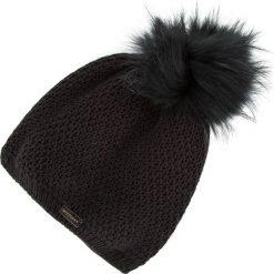 83-HF-002-1 Czapka damska. Czarne czapki damskie Wittchen, na zimę, z materiału. Za 69,00 zł.