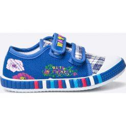 Hasby - Tenisówki dziecięce. Szare buty sportowe dziewczęce HASBY, z gumy. W wyprzedaży za 24,90 zł.