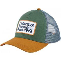 Marmot Czapka Z Daszkiem Retro Trucker Hat Urban Army. Brązowe czapki z daszkiem męskie Marmot. Za 105,00 zł.