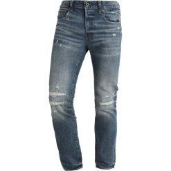 GStar 3301 SLIM Jeansy Slim Fit higa denim. Niebieskie jeansy męskie G-Star. W wyprzedaży za 395,40 zł.