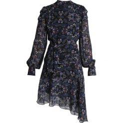 POSTYR POSVIOLA DRESS Sukienka letnia black. Czarne sukienki letnie POSTYR, z materiału. Za 799,00 zł.