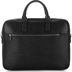 Torba w kolorze czarnym - (S)40 x (W)30 x (G)4,3 cm. Czarne torby na laptopa marki Wittchen, w paski, z materiału. W wyprzedaży za 199,95 zł.