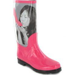 """Buty damskie: Kalosze """"Shoe"""" w kolorze jasnoróżowym"""