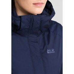 Jack Wolfskin SEVEN LAKES  Kurtka hardshell midnight blue. Niebieskie kurtki sportowe damskie marki Jack Wolfskin, s, z hardshellu. W wyprzedaży za 543,20 zł.