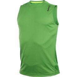 Odzież sportowa męska: koszulka do biegania męska REEBOK RUNNING ESSENTIALS SLEEVELESS TEE / AJ0352 – REEBOK RUNNING ESSENTIALS SLEEVELESS TEE