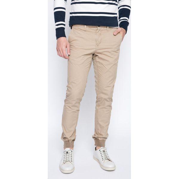 e8998bd622736 Tommy Hilfiger - Spodnie - Szare spodnie męskie TOMMY HILFIGER