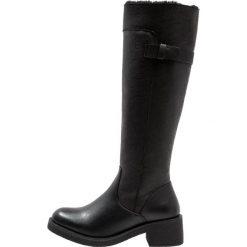 Anna Field Kozaki black. Czarne buty zimowe damskie marki Anna Field, z materiału. W wyprzedaży za 160,30 zł.