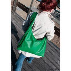 Torba soczysto zielona. Zielone torebki klasyczne damskie Pakamera, ze skóry. Za 330,00 zł.