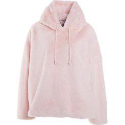 Bluzy rozpinane damskie: Kengstar Bluza z kapturem rosa baby