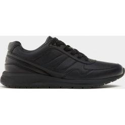 Buty męskie: Czarne buty sportowe w stylu retro