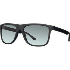 Okulary przeciwsłoneczne męskie: Okulary męskie w kolorze czarno-szarym