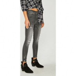 Only - Jeansy. Szare jeansy damskie ONLY, z bawełny. Za 169,90 zł.