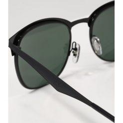 RayBan Okulary przeciwsłoneczne black/dark green. Czarne okulary przeciwsłoneczne męskie aviatory Ray-Ban. Za 619,00 zł.