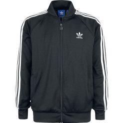 Adidas SST TT Bluza dresowa czarny/biały. Białe bejsbolówki męskie Adidas, l, w paski, z bawełny. Za 284,90 zł.