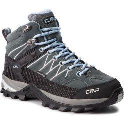 Buty trekkingowe damskie: Trekkingi CMP - Rigel Mid Wmn Trekking Shoes Wp 3Q12946 Graffite/Azzurro 77BD
