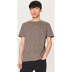 T-shirty męskie: T-shirt w lemury – Szary
